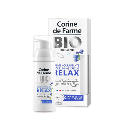 Crème nourrissante Relax - Certifiée Bio
