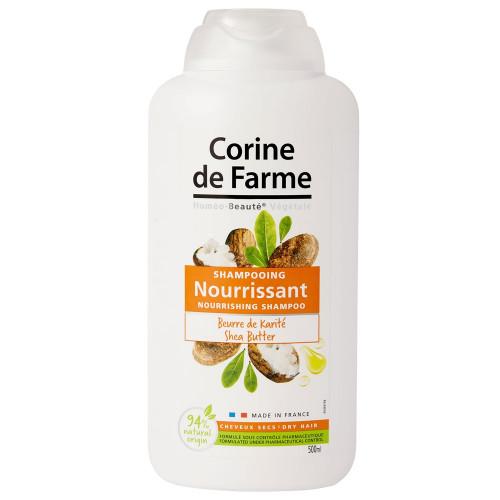 Shampooing Nourrisant au Beurre de Karité 500ml